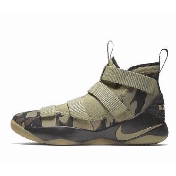 official photos 202b9 c8d2b Nike LEBRON SOLDIER XI - CAMO Mens Basketball Shoe